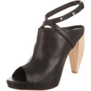 LOEFFLER RANDALL Leather Ginevra Boot Heels RP$500